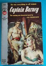 Vintage JAN WESTCOTT CAPTAIN BARNEY Drama Thriller PB POCKET BOOK 1953