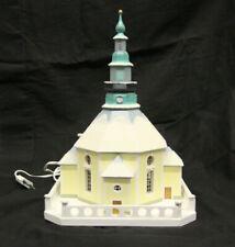 Seiffener Kirche 20 cm bunt Kapelle Tischschmuck Holz Deko 99//03 B