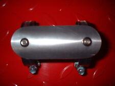 Triumph BSA racing TT exhaust pipe leg guard / heat shield Norton & others