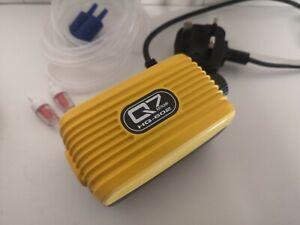Air Pump Fish Tank Quite Silent Flow Oxygen Bubbles Double Outlet Valve