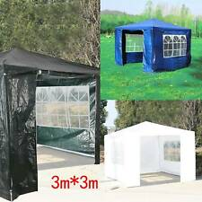 More details for 3x3m heavy duty gazebo marquee canopy waterproof garden patio party tent