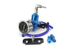 Regulador de presión de combustible azul del FPR Ajustable Y Adaptador Para Impreza 2.0 Wrx Gda