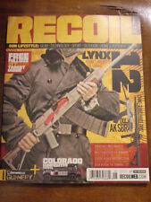RECOIL GUN LIFESTYLE  ISSUE 36  2018 MAGAZINE  NEW  LYNX 12