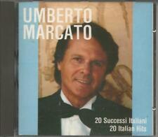 UMBERTO MARCATO - 20 Successi italian - RARO CD 1986