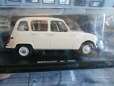 1:24 Fabbri Editori Renault 4L Fasa Espana 1964 creme