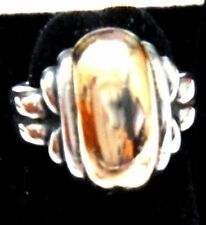 Medium Thatch Dome Ring Retired James Avery Super Rare Size!