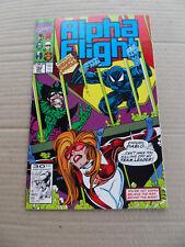 Alpha Flight 102 . SIGNED . Marvel 1991 .  VF