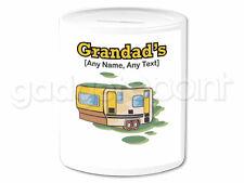 Personalised Gift Camper Van Money Box Motorhome Caravan Holiday Novelty Present