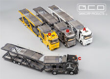 GCD 1:64 Benz Actros Car Carrier Vehicle Transport Truck Diecast Model Car