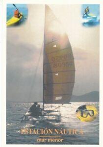 1998-Nº46-TARJETAS DEL CORREO PREFRANQUEADAS-ESTACION NAUTICA-MAR MENOR