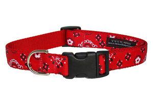 Sassy Dog Wear Adjustable Bandana Dog Collar