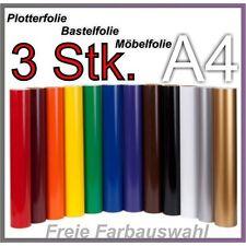3x a4 traceur film bastelfolie Meubles Film deco feuille film adhésif selbs collante