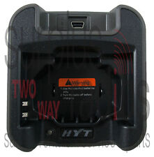 NEW HYT CH05L01 DESKTOP CHARGER TRAY NO A/C ADAPTER FOR HYT TC-320 TC320