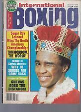 INTERNATIONAL BOXING DEC 1979 SUGAR RAY LEONARD COVER VF COND