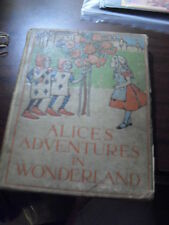 RARE 1897 Book - Alice's Adventures in Wonderland by Lewis Carroll