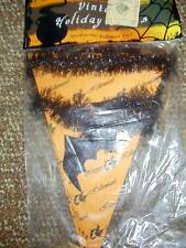 Bethany Lowe Halloween Pennant Garland Vintage Holiday Trim NEW