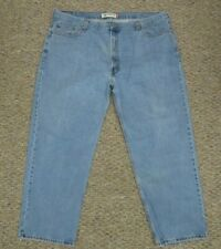 Levi's Jeans 550 Relaxed Fit Light Blue Pants Mens Size 46x30