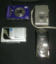 Bundle Of 4 Digital Cameras  & CASE