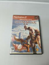 God of War (Sony PlayStation 2, 2005) Greatest Hits PS2 - Manual - Very clean