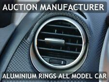 Pour Seat Altea / XL 04-15 2 x Anneaux De Ventilation Chromes Aluminium Poli