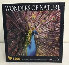 Wonders Of Nature Peacock 1000 Piece Puzzle Brand New Made In USA