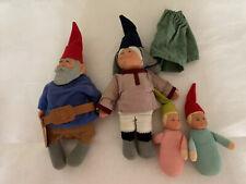 Rare Lot Of 4 Mom Dad 1976 Mattel David Gnome Family 2 Babies Make Offer