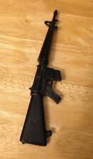 "VINTAGE ""ACTION MAN"" SAS M16 BLACK MACHINE GUN.1/6th SCALE TOYS"