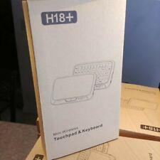 H18 MINI WIRELESS FULL TOUCH PAD & KEYBOARD NEW IN BOX BLACK