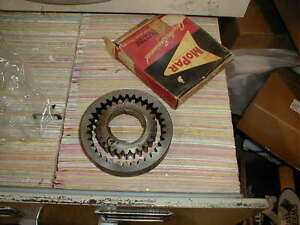 NOS MOPAR 1953-61 POWERFLITE FRONT OIL PUMP PINION & GEAR