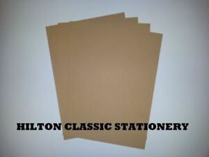 RECYCLED KRAFT CARD 225GSM -A4 / A3 - CHEAPEST ON EBAY
