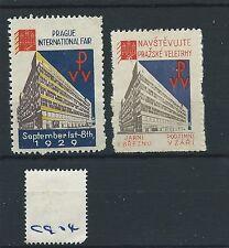 wbc. - CINDERELLA/POSTER - CG04 - EUROPE - PRAGUE INT. FAIR - 1929