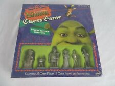 2007 Shrek The Third Chess Game Deluxe Edition Chess Set New