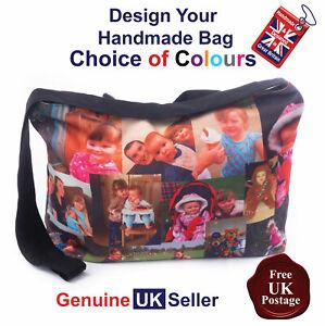 Personalised Tote Bag Handmade Photo Bag, Personalised Bag, Photo Bag