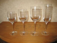 BOUSSU *NEW* FORUM Set 4 Verres Glasses