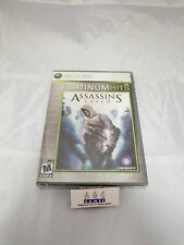 Assassin's Creed Microsoft XBOX 360 Platinum Hits Brand New Factory Sealed