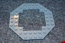 1 ~ 10x10 Dark Gray OCTAGON Castle Platform w/ Center Cut Out ~ New Lego Parts ~