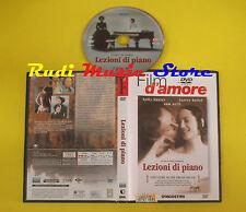 DVD film LEZIONI DI PIANO 2004 Holy Hunter Harvey Keitel Sam Neill DEA no (D1)