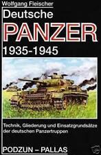 Deutsche Panzer Technil Gliederung Einsatz-Grundsätze Ostfront Spanien Fleischer