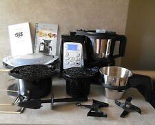 Thermogourmet robot cuiseur multifonction accessoires noir inox livre recettes