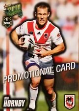 2010 NRL SELECT CHAMPIONS DRAGONS BEN HORNBY COMMON PROMO CARD FREE POST
