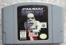 STAR WARS SHADOW OF THE EMPIRE NINTENDO 64 NTSC US SOLO CARTUCCIA GIOCO