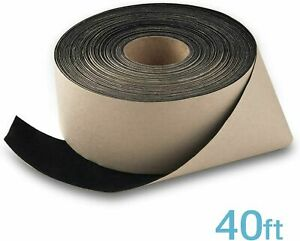 Black Felt Tape Enhancing Projection for DIY Projector Screen 2-inch x 40-feet
