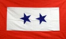 3'x5' Us 2 Blue Stars Son Daughter in Service Flag Military Vet Veteran Usa 3X5