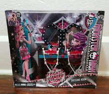 """Monster High Doll """"Frights Camera Action!"""" DRESSING ROOM Play Set ~ NEW IN BOX!"""