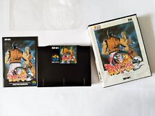Neo Geo Art of Fighting 2 Ryuuko no Ken II AES SNK Fighting Game Manual Japan JP
