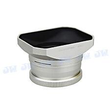 JJC Silver Metal Lens Hood Filter Adapter for Nikon Coolpix A as HN-CP18 UR-E24
