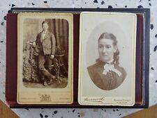 CDV Cabinet Card Antique Photo : Adelaide : Hammer & Co : Paris Photo Compy