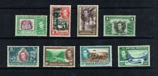 British Honduras: 1938, King George VI definitive, short set to 25c  Mint set.