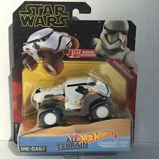 Hot Wheels Star Wars Character Cars First Order Stormtrooper Die-Cast