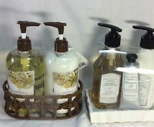 Hand Liquid Soap and Lotion Set. Choose From Coconut Or Ocean Breeze in Soap D.